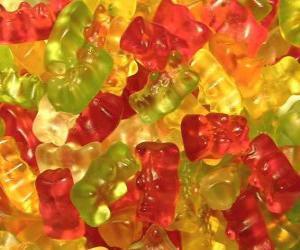 Puzzle Gummy Bears
