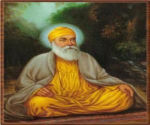 Puzzle Guru Nanak Dev, fondateur du Sikhisme