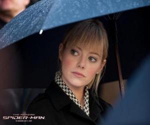 Puzzle Gwen Stacy lors des funérailles de son père