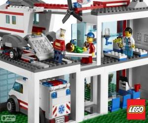 Puzzle Hôpital de Lego