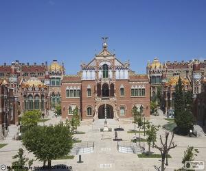 Puzzle Hôpital de Sant Pau, Barcelone