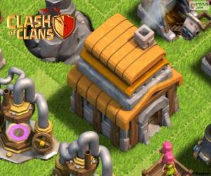 Puzzle Hôtel de ville 5, Clash of Clans