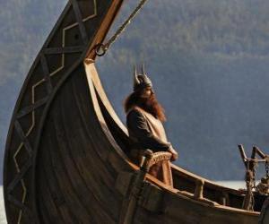 Puzzle Halvar, prend la tête du bateau