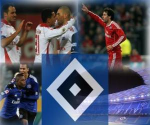 Puzzle Hambourg SV, équipe allemande de football