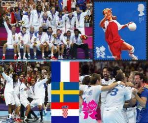 Puzzle Handball masculin Londres 2012