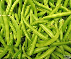 Puzzle Haricots verts