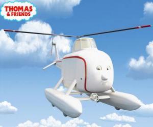 Puzzle Harold est un hélicoptère au grand cœur