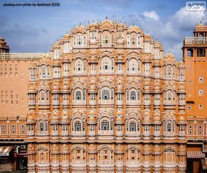 Puzzle Hawa Mahal, Inde