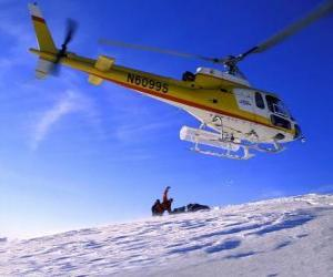 Puzzle Hélicoptère de sauvetage