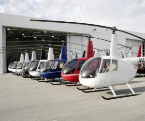 Puzzle Hélicoptères légers
