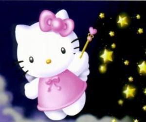Puzzle Hello Kitty est une fée parmi les étoiles