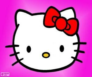 Puzzle Hello Kitty heureux