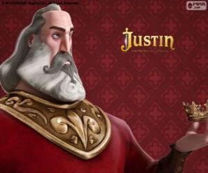 Puzzle Heraclio, le chevalier méchant qui veut s'emparer du trône