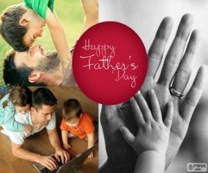 Puzzle Heureuse fête des pères