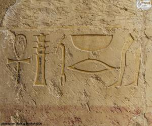 Puzzle Hiéroglyphes