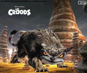 Puzzle Hibours, un animal nocturne qui est un mélange entre l'ours et le hibou
