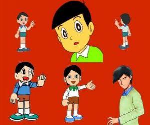 Puzzle Hidetoshi Dekisugi, camarade de classe de Nobita