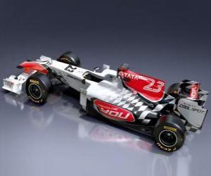 Puzzle Hispania F111 - 2011 -