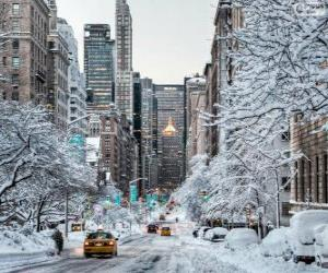 Puzzle Hiver à New York