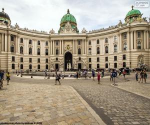 Puzzle Hofburg, Autriche