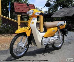 Puzzle Honda Super Cub