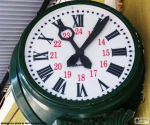 Puzzle Horloge de gare