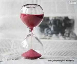 Puzzle Horloge de sable