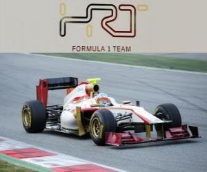 Puzzle HRT F112 - 2012 -