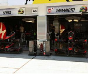 Puzzle HRT, Grand Prix de Hongrie 2010