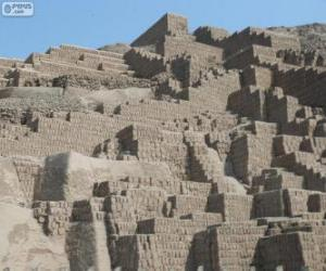 Puzzle Huaca Pucllana, Lima, Peru