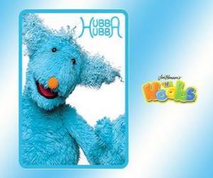 Puzzle Hubba Hubba est la Hoob qui fait la Hoobopedia dans Hoobland