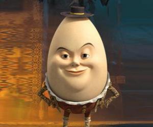 Puzzle Humpty Dumpty, vieil ami de le Chat potté