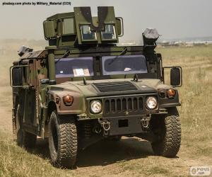 Puzzle Humvee de l'armée