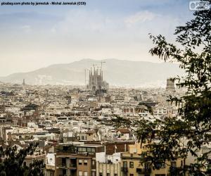 Puzzle Image de Barcelone