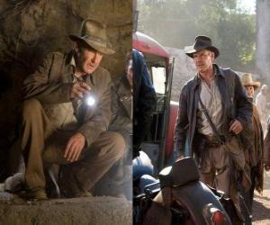 Puzzle Indiana Jones est l'un des aventuriers les plus célèbres du monde