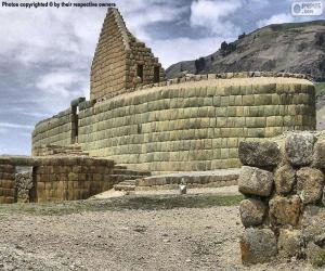 Puzzle Ingapirca, Équateur