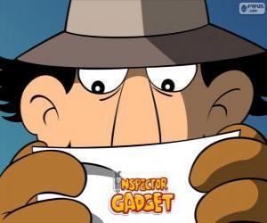 Puzzle Inspecteur Gadget lit une mission