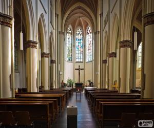 Puzzle Intérieur de l'église