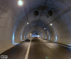 Puzzle Intérieur du tunnel