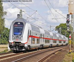Puzzle Intercity IC 2, Allemagne