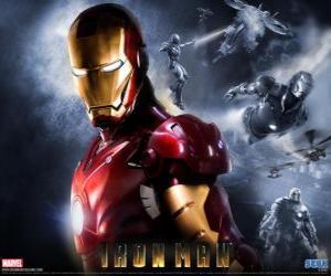 Puzzle Iron Man dispose d'une armure très puissante qui lui permet de voler, il donne une force surhumaine et des armes spéciales disponibles