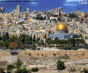 Puzzle Jérusalem, Israël