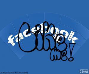Puzzle J'aime, Facebook