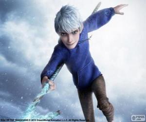 Puzzle Jack Frost, est un être surnaturel. Caractère de Les Cinq légendes