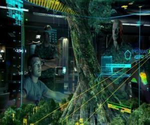 Puzzle Jake Sully, et le colonel Quaritch d'étudier l'arbre-mère