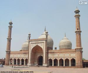 Puzzle Jama Masjid, Inde