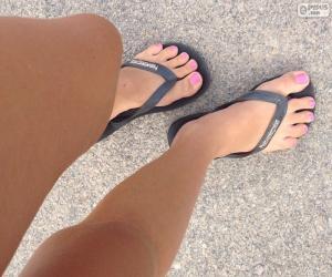 Puzzle Jambes et pieds