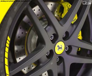 Puzzle Jante Ferrari