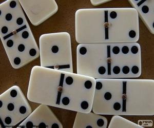 Puzzle Jeu de dominos