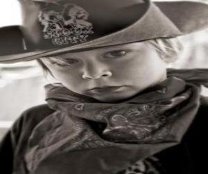 Puzzle Jeune Cowboy